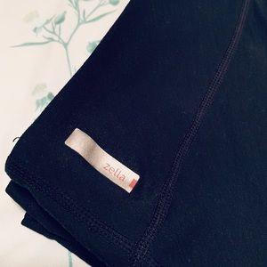 Zella Black Knee Length Shorts